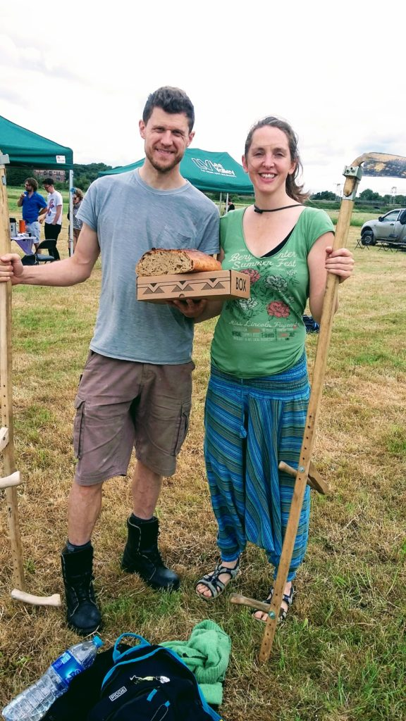 Scything competition winners