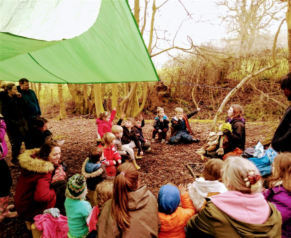 Forest School in Early Spring